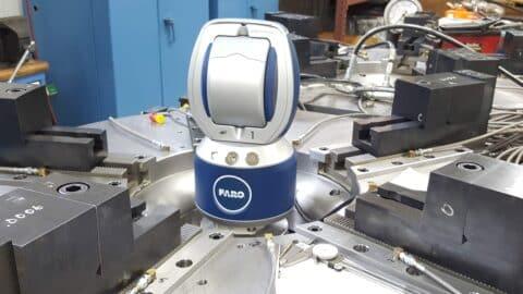 Faro Laser Alignment