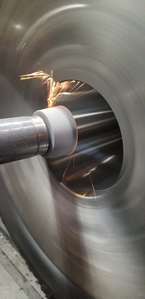 Spindle Taper Grinding In Place